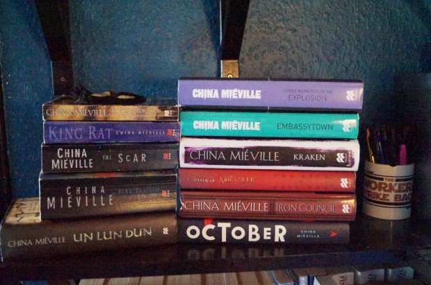 chine mieville shelf